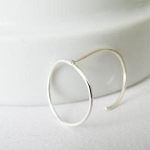 Delicate Sterling Silver Outlined H..