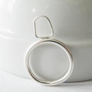 Sterling Silver Stacking Ring Outli..