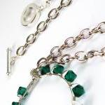 May Birthstone Emerald Green Swarov..